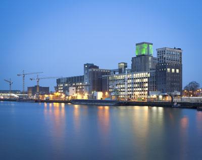 Der Standort von Codrico im Rotterdamer Hafengebiet